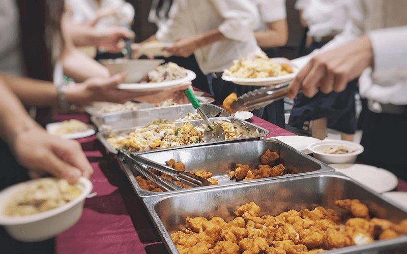 社員食堂を導入している企業の割合