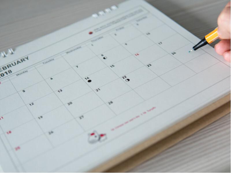 特別休暇で取得できる日数