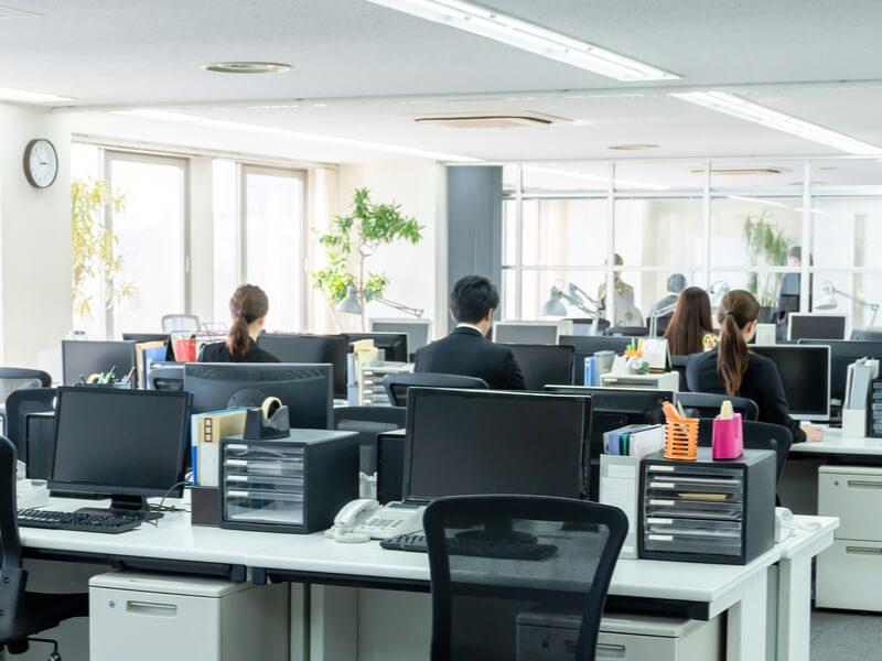 日本企業の福利厚生施設、導入割合