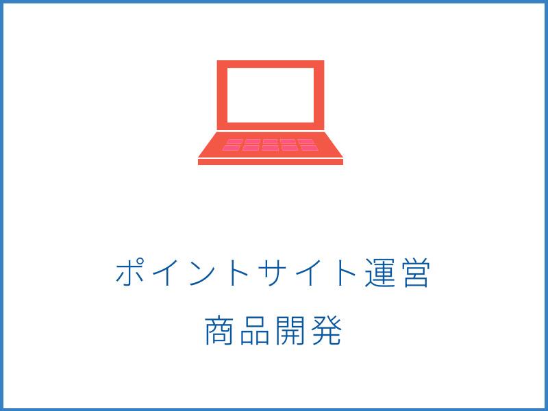 ポイントサイト運営/商品開発