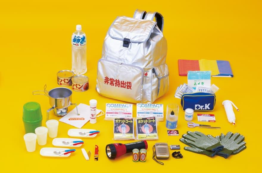 >リロクラブの防災用品サポートの詳細